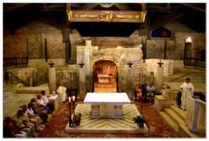 Дом девы Марии - Крипта - Назарет - Израиль