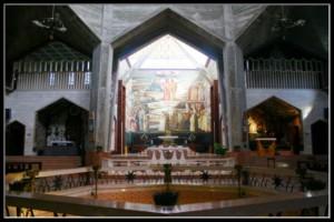 Храм благовещения в Назарете - Израиль