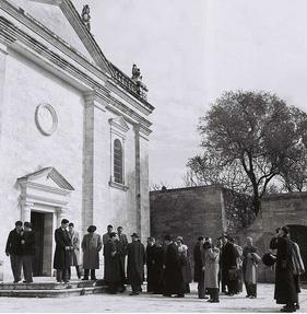 Храм благовещения в Назарете (старый храм)