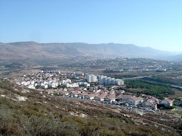 Вид на город Кармиэль