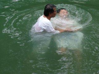Ярденит – место современного крещения в реке Иордан